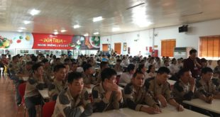Khóa huấn luyện an toàn tại Miwon Việt Nam