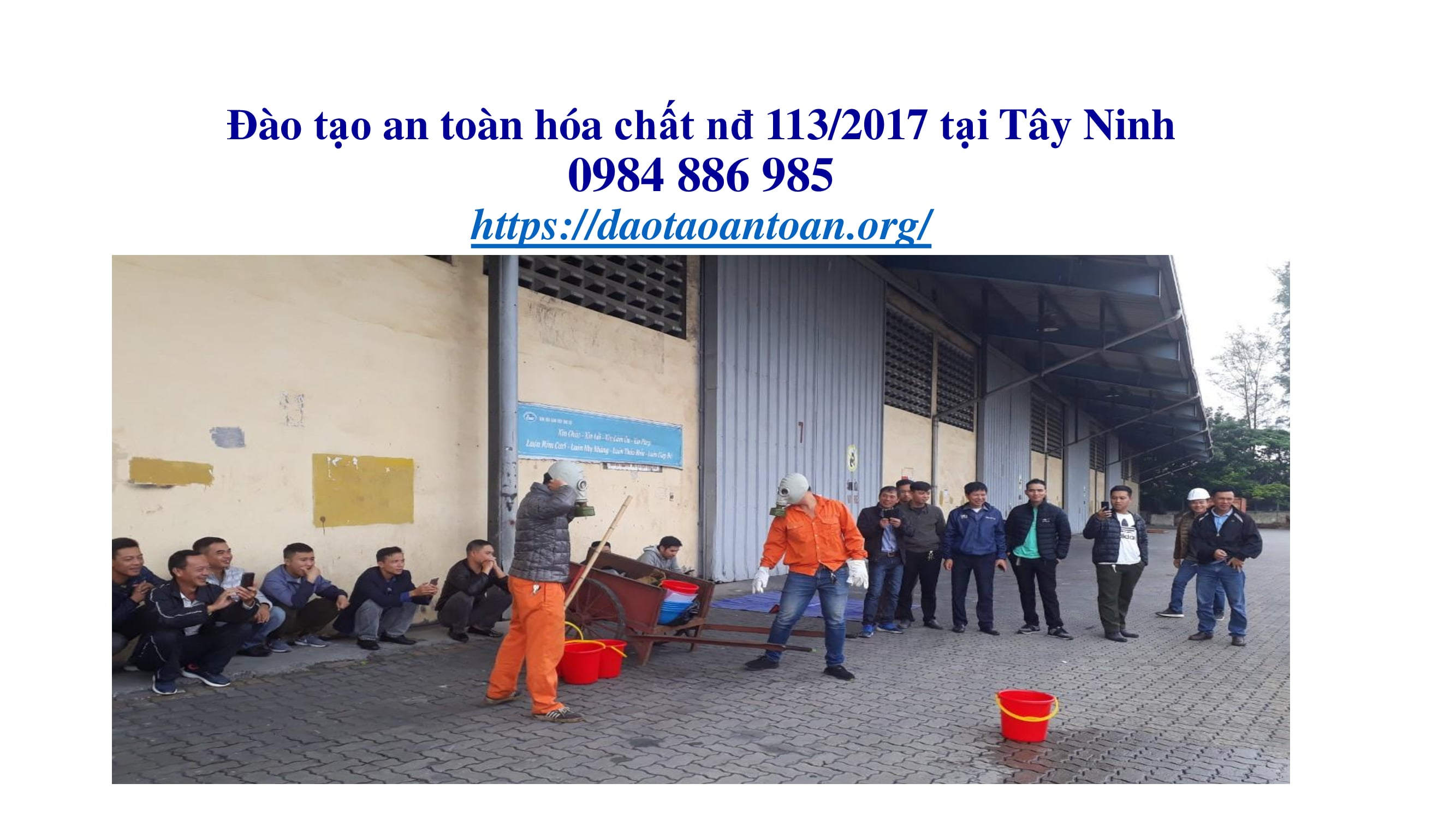 Đào tạo an toàn hóa chất nđ 113